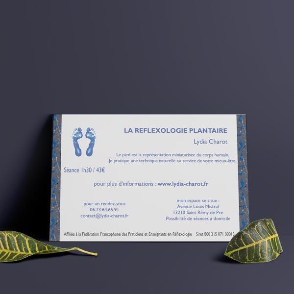 flyer alpilles réflexologie